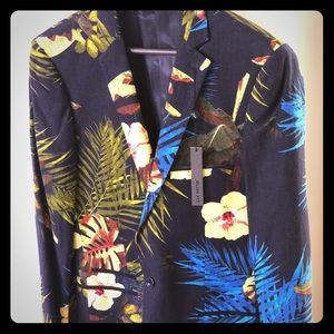 Other - Floral Print Blazer